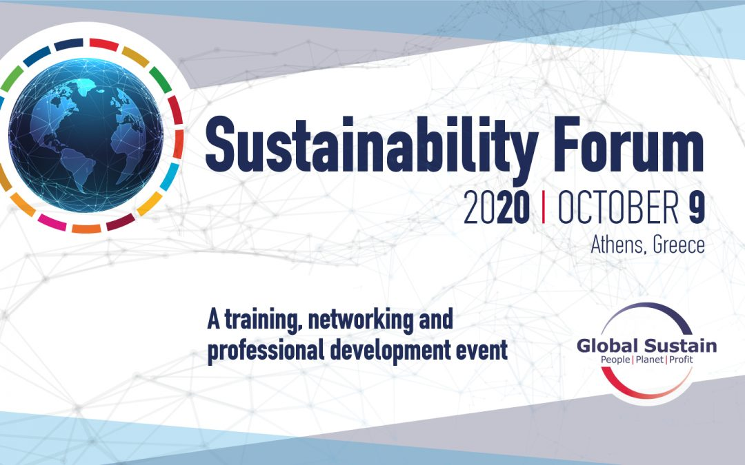 Sustainability Forum 2020 on October 9 – Let's get phygital
